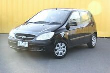 2010 Hyundai Getz TB MY09 SX Black 5 Speed Manual Hatchback Heatherton Kingston Area Preview