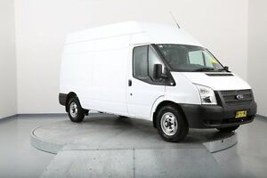 2012 Ford Transit VM 350 High Roof LWB White 6 Speed Manual Van Old Guildford Fairfield Area Preview