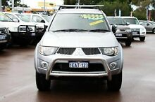 2012 Mitsubishi Triton MN MY12 GLX-R Double Cab Silver 5 Speed Manual Utility Cannington Canning Area Preview