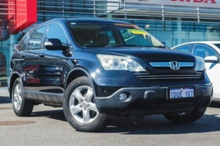 2007 Honda CR-V MY07 (4x4) Black 5 Speed Automatic Wagon Wangara Wanneroo Area Preview
