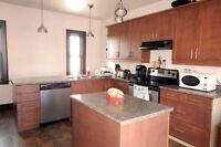 Small Furnished Rm in nice Uptown apt - with a GARAGE
