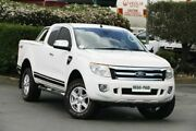 2014 Ford Ranger PX XLT Super Cab White 6 Speed Sports Automatic Utility Acacia Ridge Brisbane South West Preview