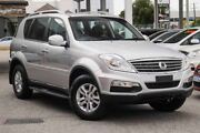 2016 Ssangyong Rexton Y285 II MY14 SX Silver 5 Speed Sports Automatic Wagon Glendalough Stirling Area Preview