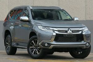 2015 Mitsubishi Pajero Sport QE MY16 Exceed Grey 8 Speed Sports Automatic Wagon Wolli Creek Rockdale Area Preview