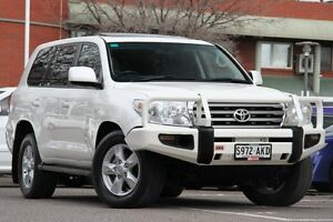 2011 Toyota Landcruiser VDJ200R MY10 Sahara Crystal Pearl 6 Speed Sports Automatic Wagon Adelaide CBD Adelaide City Preview