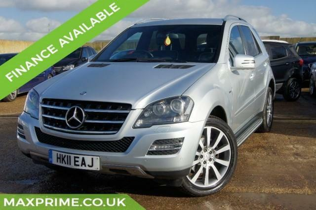 2011 MERCEDES-BENZ ML350 CDI AUTO GRAND EDITION, FULL MERCEDES SERVICE HISTORY