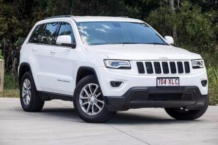 2014 Jeep Grand Cherokee WK MY2014 Laredo 4x2 White 8 Speed Sports Automatic Wagon