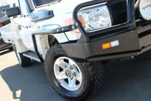 2009 Toyota Landcruiser VDJ79R Workmate French Vanilla 5 Speed Manual Cab Chassis