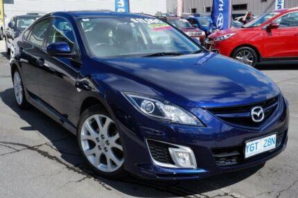 2008 Mazda 6 GH1051 Luxury Sports Blue 6 Speed Manual Hatchback