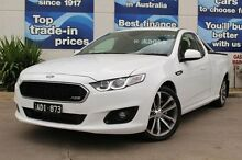 2015 Ford Falcon FG X XR6 Ute Super Cab White 6 Speed Sports Automatic Utility Bundoora Banyule Area Preview