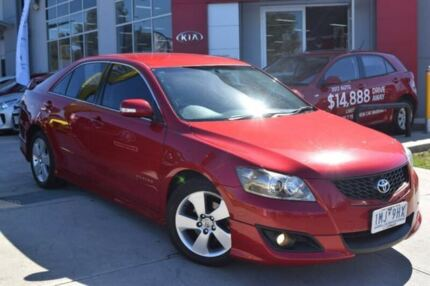 2007 Toyota Aurion GSV40R Sportivo ZR6 Red 6 Speed Sports Automatic Sedan Hoppers Crossing Wyndham Area Preview