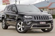 2013 Jeep Grand Cherokee WK MY2014 Limited Black 8 Speed Sports Automatic Wagon Hillcrest Logan Area Preview