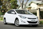 2013 Hyundai Elantra MD3 Trophy White 6 Speed Sports Automatic Sedan Clare Clare Area Preview