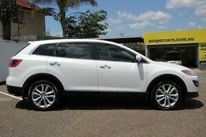 2010 Mazda CX-9 TB10A4 MY11 Grand Touring White 6 Speed Sports Automatic Wagon Chermside Brisbane North East Preview