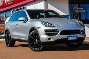 2012 Porsche Cayenne 92A MY13 Diesel Tiptronic Silver 8 Speed Sports Automatic Wagon