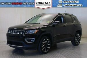 2017 Jeep Compass Limited 4WD*Sunroof*Nav*Leather*