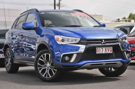 2016 Mitsubishi ASX XB MY15.5 LS 2WD Blue 6 Speed Constant Variable Wagon Mount Gravatt Brisbane South East Preview