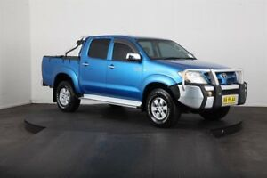 2006 Toyota Hilux GGN25R SR5 (4x4) Blue 5 Speed Automatic