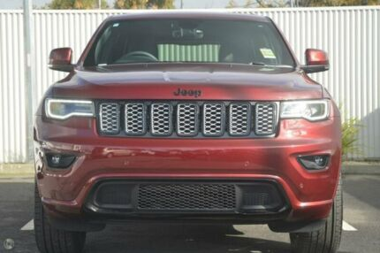 2017 Jeep Grand Cherokee WK MY17 Blackhawk Red 8 Speed Sports Automatic Wagon