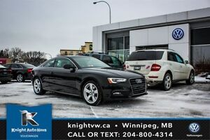 2014 Audi A5 Quattro AWD w/ Heated Leather Seats