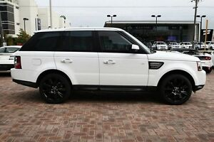 2012 Land Rover Range Rover Sport L320 12MY SDV6 CommandShift Luxury Fuji White 6 Speed Osborne Park Stirling Area Preview