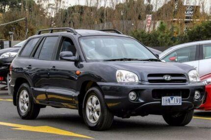 2004 Hyundai Santa Fe SM MY04 GLS Grey 4 Speed Sports Automatic Wagon