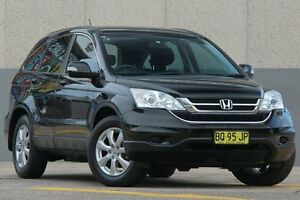 2012 Honda CR-V MY11 (4x4) Luxury Black 5 Speed Automatic Wagon Wolli Creek Rockdale Area Preview