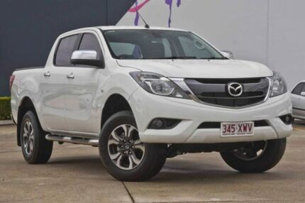 2017 Mazda BT-50 UR0YG1 XTR 4x2 Hi-Rider White 6 Speed Sports Automatic Utility Rothwell Redcliffe Area Preview