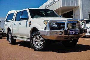 2009 Ford Ranger PK XLT Crew Cab White 5 Speed Automatic Utility Westminster Stirling Area Preview