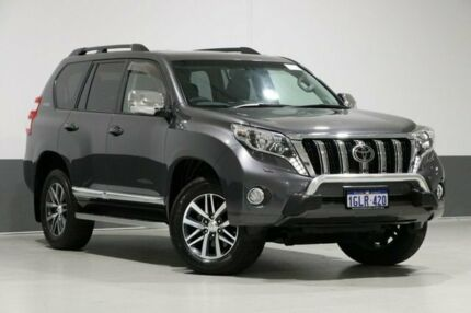 2015 Toyota Landcruiser Prado GDJ150R MY16 Kakadu (4x4) Graphite 6 Speed Automatic Wagon Bentley Canning Area Preview