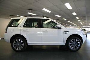 2014 Land Rover Freelander 2 LF SD4 White Sports Automatic Wagon