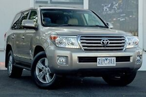 2013 Toyota Landcruiser VDJ200R MY13 Sahara Gold 6 Speed Sports Automatic Wagon Upper Ferntree Gully Knox Area Preview