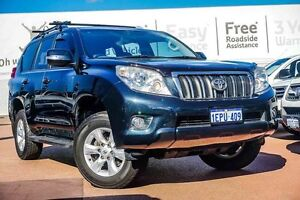 2009 Toyota Landcruiser Prado KDJ120R GXL Blue 5 Speed Automatic Wagon Westminster Stirling Area Preview