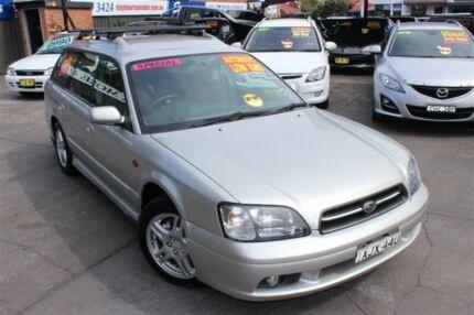 2000 Subaru Liberty MY01 GX (AWD) Silver 4 Speed Automatic Wagon