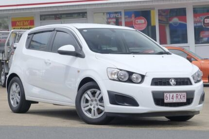 2011 Holden Barina TK MY11 White 4 Speed Automatic Hatchback Woolloongabba Brisbane South West Preview