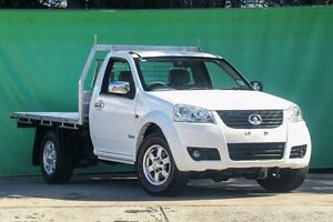 2012 Great Wall V240 K2 MY12 4x2 White 5 Speed Manual Cab Chassis Ringwood East Maroondah Area Preview
