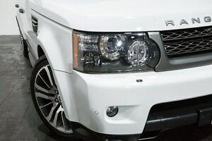 2011 Land Rover Range Rover Sport L320 11MY TDV6 Luxury Fuji White 6 Speed Sports Automatic Wagon Rozelle Leichhardt Area Preview