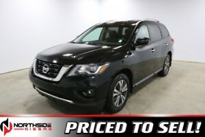 2017 Nissan Pathfinder 4WD SV Accident Free,  Heated Seats,  3rd