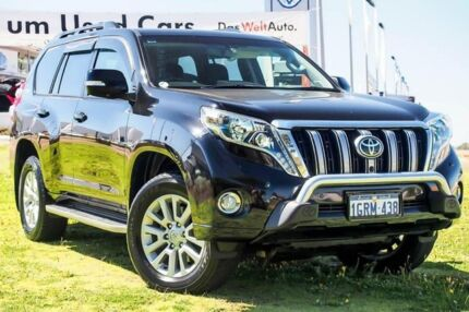 2015 Toyota Landcruiser Prado GDJ150R Kakadu Black 6 Speed Sports Automatic Wagon Wangara Wanneroo Area Preview