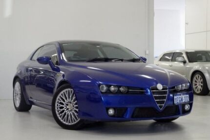 2007 Alfa Romeo Brera JTS Blue 6 Speed Manual Coupe Myaree Melville Area Preview