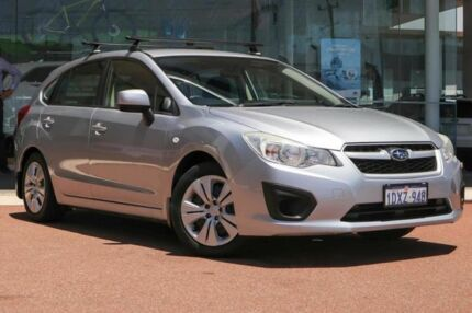 2012 Subaru Impreza G4 MY12 2.0i Lineartronic AWD Silver 6 Speed Constant Variable Hatchback Osborne Park Stirling Area Preview