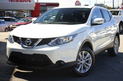 2017 Nissan Qashqai J11 TS Ivory Pearl 1 Speed Constant Variable Wagon