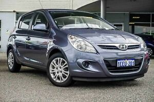 2012 Hyundai i20 PB MY12 Active Silver 4 Speed Automatic Hatchback Osborne Park Stirling Area Preview