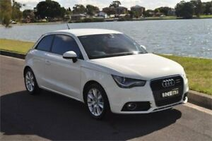 2011 Audi A1 8X 1.4 TFSI Sport White 7 Speed Auto Direct Shift Hatchback Five Dock Canada Bay Area Preview