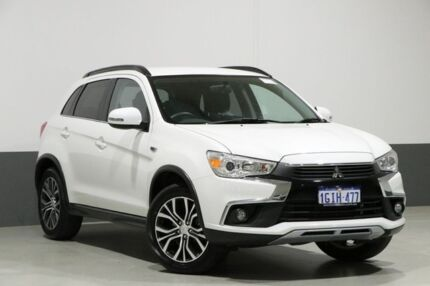 2017 Mitsubishi ASX XC MY17 LS (2WD) White Continuous Variable Wagon Bentley Canning Area Preview