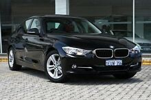 2013 BMW 320i F30 MY1112 Black 8 Speed Sports Automatic Sedan St James Victoria Park Area Preview