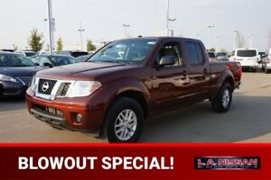 2017 Nissan Frontier 4X4 CREWCAB SV Accident Free,  Back-up Cam,