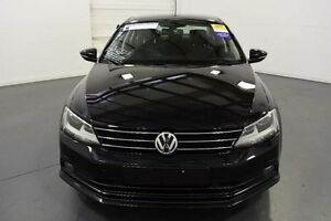 2015 Volkswagen Jetta 1KM MY15 103 TDI Highline Black 6 Speed Direct Shift Sedan Moorabbin Kingston Area Preview