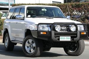 2012 Nissan Patrol GU 7 MY10 ST Polar White 4 Speed Automatic Wagon Acacia Ridge Brisbane South West Preview
