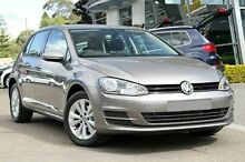 2015 Volkswagen Golf VII MY16 Grey 7 Speed Sports Automatic Dual Clutch Hatchback Hobart CBD Hobart City Preview